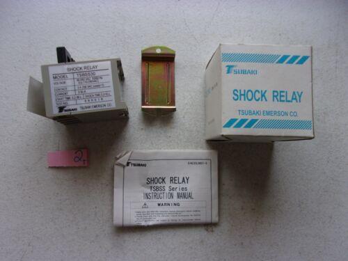NEW IN BOX TSUBAKI SHOCK RELAY TSBSS30 (132)