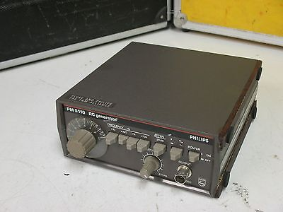 Philips PM-5110 , richtig feiner Signalgenerator, klirrarm !   Fluke & Philips