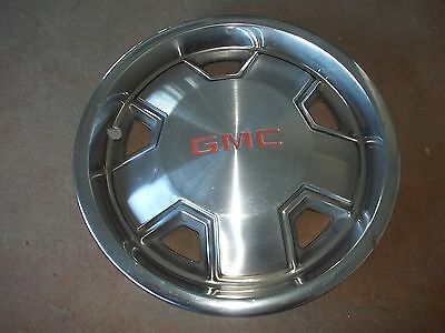 "82 83 84 85 86 87 88 GMC S15 Sonoma Hubcap Wheel Cover Hub Cap 14"" OEM USED 3152"