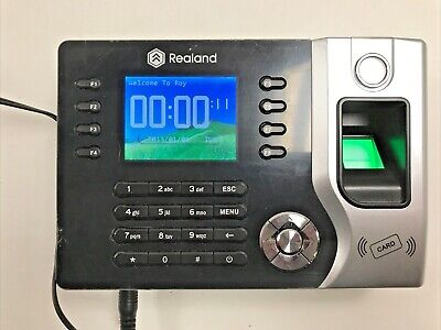 Fingerprint And Rfid Card Attendance Time Clock No Software