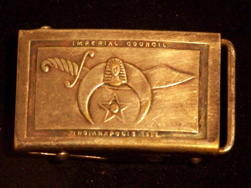 Antique Sterling Silver Shriner