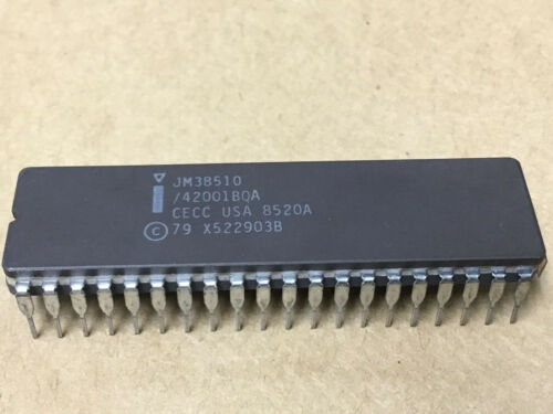 (1 PC)  INTEL  JM38510/42001BQA  (8080A/B)  Microprocessor, 8 Bit, 40 Pin, Ceram