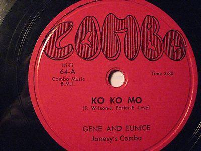 78 Rpm Gene   Eunice Combo 64 Ko Ko Mo