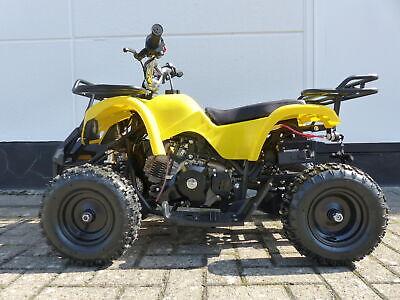RV-Racing Kinderquad 50ccm 4 Takt Quad ATV Miniquad Kinder pocketquad Gelb