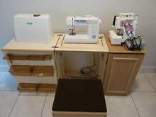 Janome Sewing Machine, MyLock Overlocker, Workstation, Seat Winmalee Blue Mountains Preview