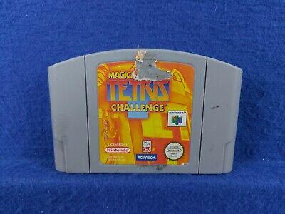 **N64 MAGICAL TETRIS CHALLENGE ** Disney GENUINE Nintendo Game Cart PAL