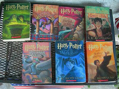 HARRY POTTER BOOK SET VOL 1-7