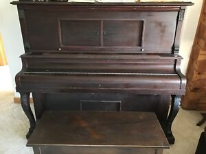 Vintage Player Piano- Built in 1903- Needs to find a good home