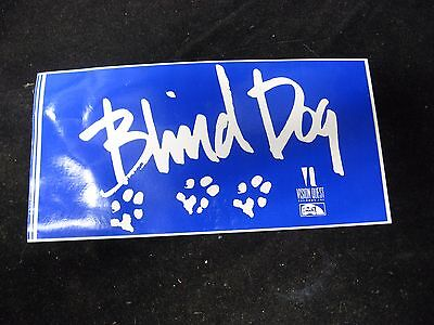 "Vintage BLIND DOG Vision Quest Recording Sticker Grateful Dead 7.5"" X 4"""