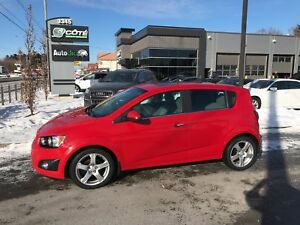 2012 Chevrolet Sonic LT TOIT OUVRANT A/C MAGS