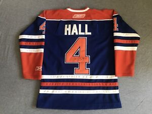 Edmonton Oilers- Tanner Hall signed jersey 77869bfd0