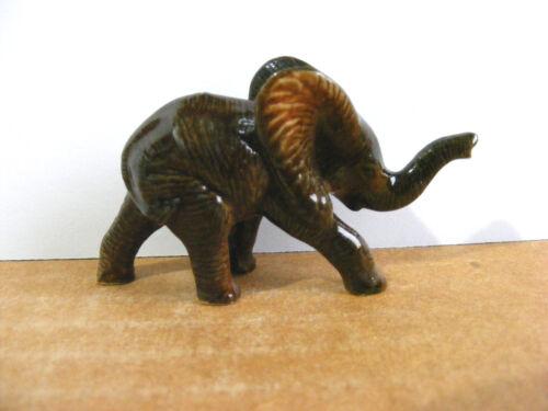 Northern Rose African Elephant Baby Miniature Animal Figurine Wildlife Rehab