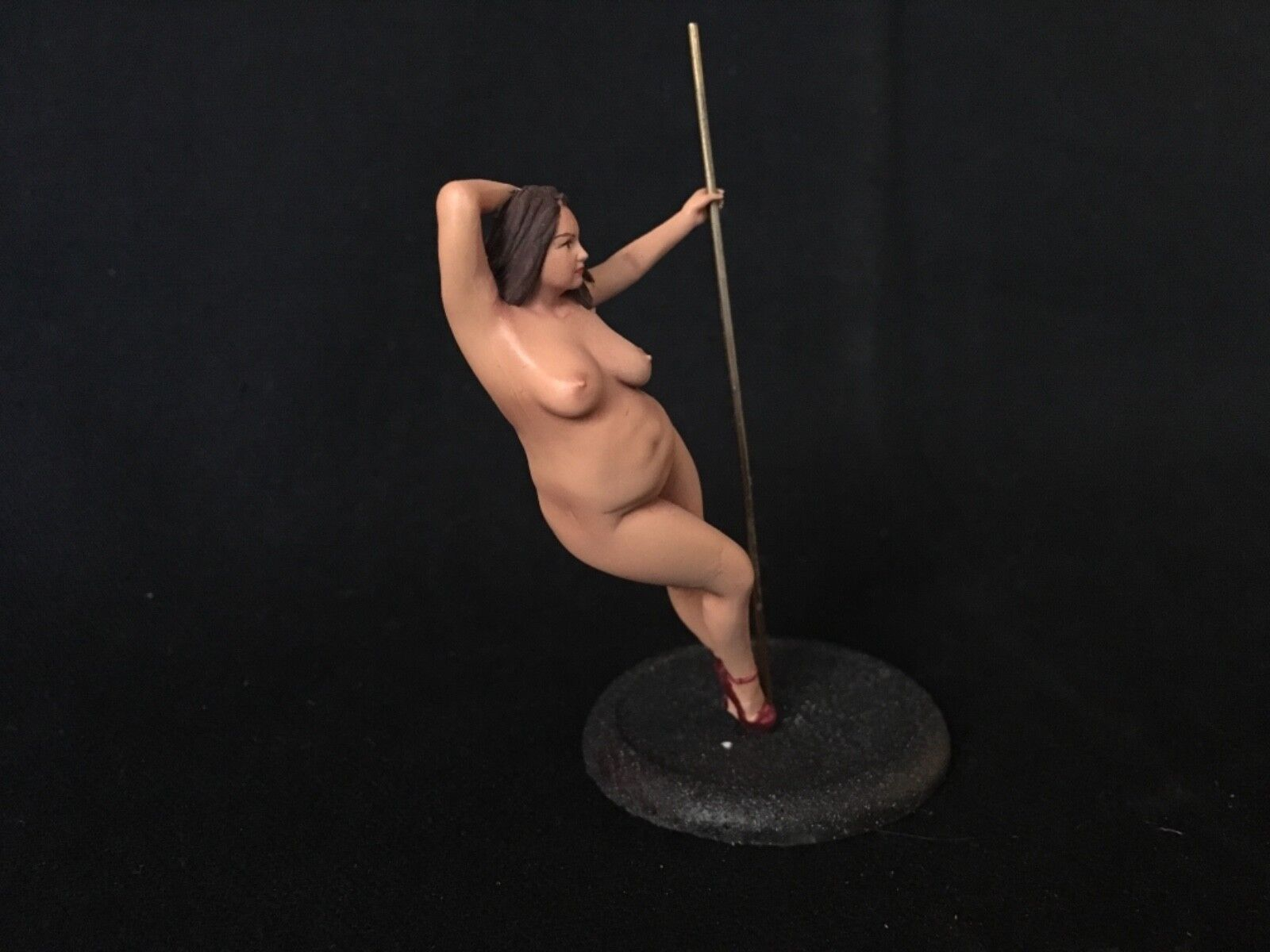 1/24 1/25 or G  75mm Scale Resin Model Kit, Sexy action Figu