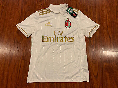2016-17 Adidas AC Milan Youth Away Soccer Jersey Large L Italy Boys