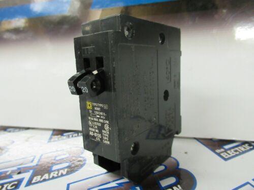 SQUARE D HOMT2020, (1) TANDEM 20 AMP (2) 1 POLE 120V  Circuit Breaker- WARRANTY