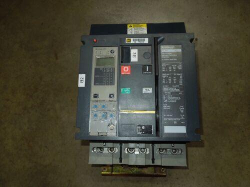 Square D I-line Powerpact Pl400 Breaker Pl34040cu44ae1ma 400a 3p 480v 5.0a Trip