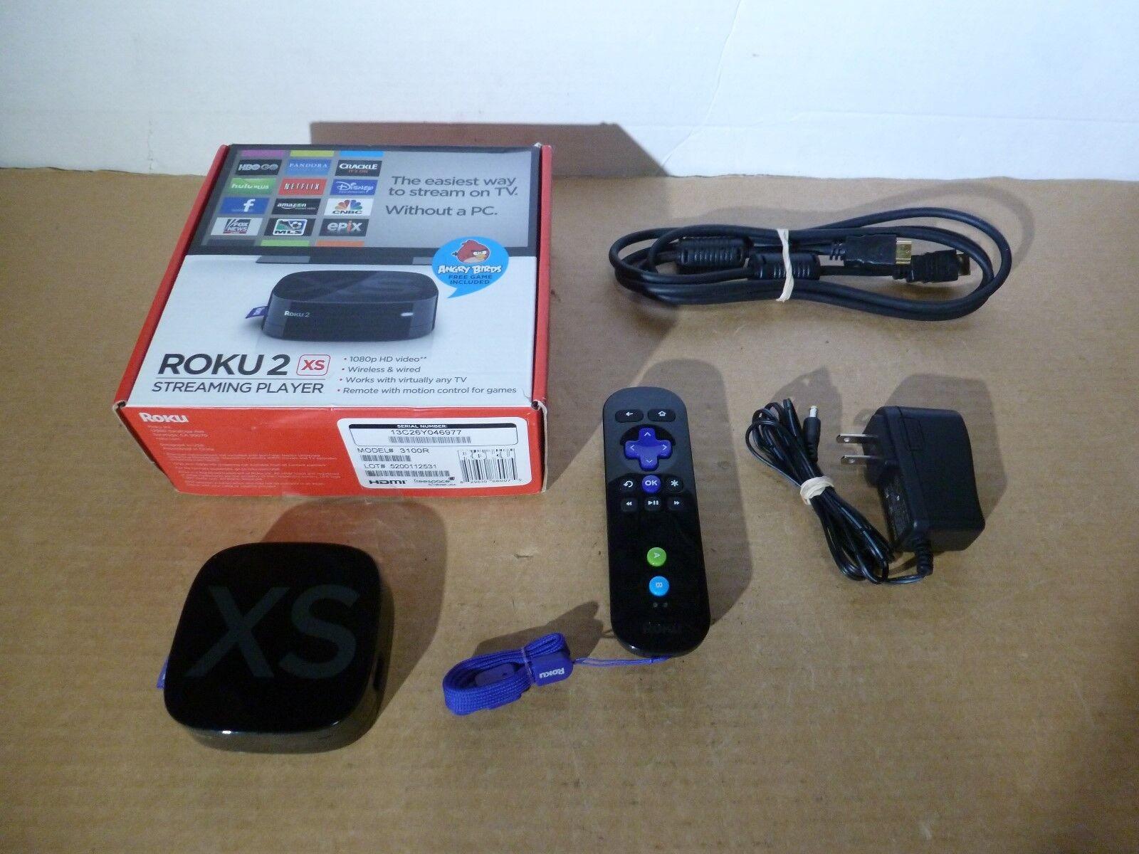 MIB ROKU 2 XS model 3100R Full HD WiFi Digital Streaming Media