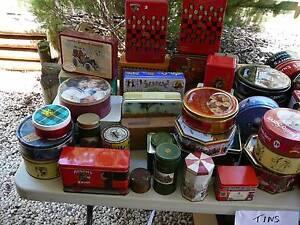 Bulk lot of collectable tins Craigmore Craigmore Playford Area Preview