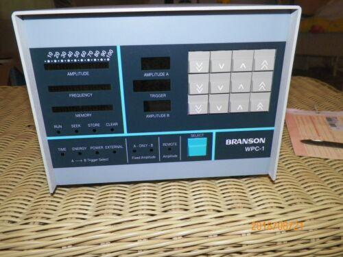 BRANSON ULTRASONIC WPC-1 WELDING PROCESS CONTROLLER