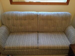 Fabric Hide-a-bed Couch - Motivated to sell