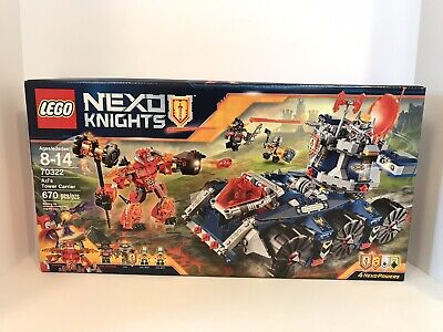 NEW LEGO Nexo Knights AXL'S TOWER CARRIER 70322 Box Has Some Damage