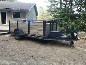 Tilt and load trailer 6' x 12'