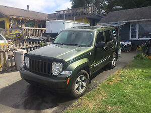 2008 Jeep Liberty true north edition