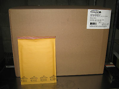 250 - 0 Ecolite Kraft Bubble Mailers 6.5 X 10 W Free Shipping - New Price