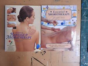 Massage and Aromatherapy (2) books Riverglades Murray Bridge Area Preview
