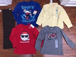 4T winter lot long sleeve tops brand new with tag