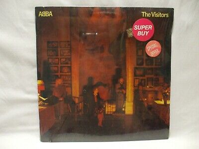 New ABBA The Visitors Vinyl Album Atlantic Records 1981