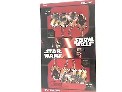 2015  TOPPS  STAR WARS DOG TAGS BOX ()