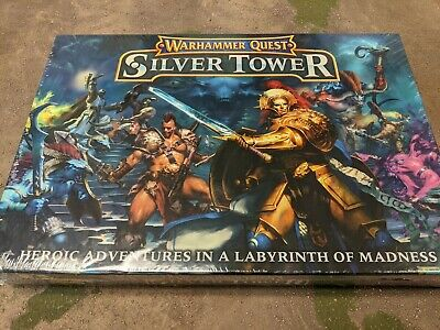 Warhammer Quest Silver Tower Box Set New Sealed Box