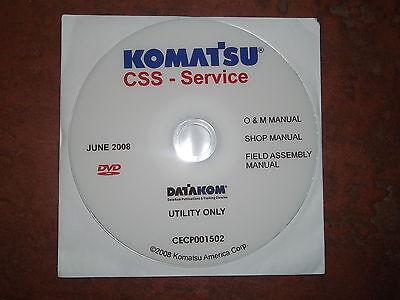 Komatsu Wb140 Wb142 Wb146 Wb150 Wb156 Backhoe Service Shop Repair Manual Cd