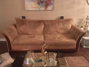 Two pet/smoke free couches for sale