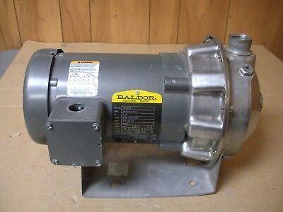 G L Goulds Pump 1st1cof3 1x 1 14-6 With Baldor Motor Jm3463 34 Hp