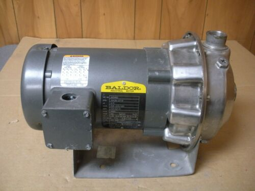 G & L Goulds Pump 1ST1COF3 , 1x 1 1/4-6 ,With  Baldor Motor JM3463 3/4 HP