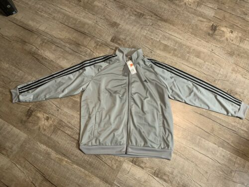 BS2226 Mens Adidas Essentials 3 Stripe Track Jacket