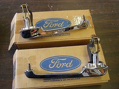 NOS OEM Ford 1980 1996 Truck F150 Bronco Door Handles 1981 1982 1983 1984 1985