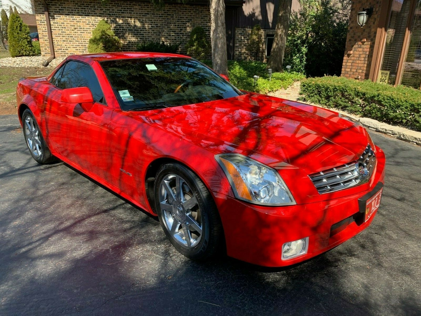 2007 CADILLAC XLR CONVERTIBLE PASSION RED LIMITED EDITION #102/250 38K MILES