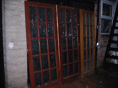Reclaimed glazed internal doors
