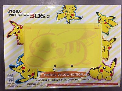 Nintendo 3DS XL Pokémon Pikachu Edition Yellow Handheld System segunda mano  Embacar hacia Mexico