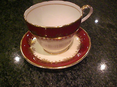 Aynsley Fine bone china cup and saucer Gold Plate