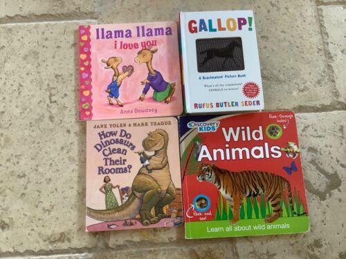 Llama Llama I Love You, Gallop!, Wild Animals, How Dinosaurs Clean Their Rooms?