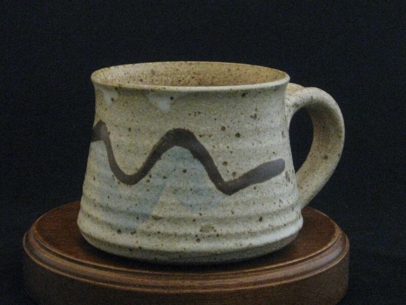Fine Art Studio Pottery Mug by American Artist Susan Werschkul Ashland Oregon