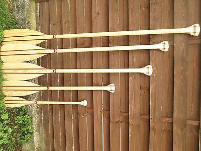 Stechpaddel aus Holz Paddel Ruder Holzruder ab 60 cm bis 180 cm