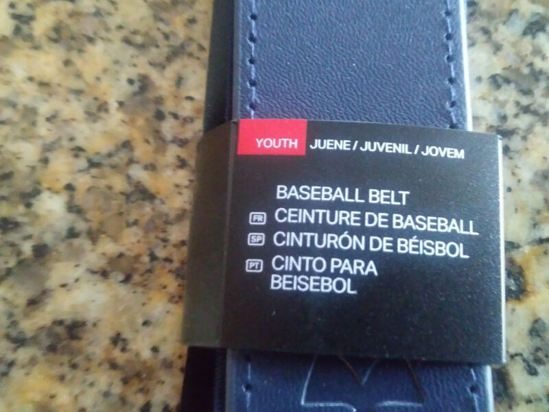 UNDER ARMOUR Baseball Belt Dark Blue Youth Brand New. Up to 36 inches.