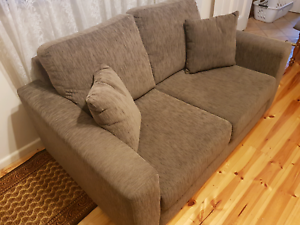Velour Couch