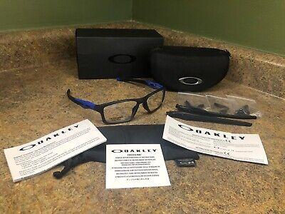 Oakley Crosslink® (TruBridge™) Satin Black Collection EyeglassesOX8090-0955 NEW