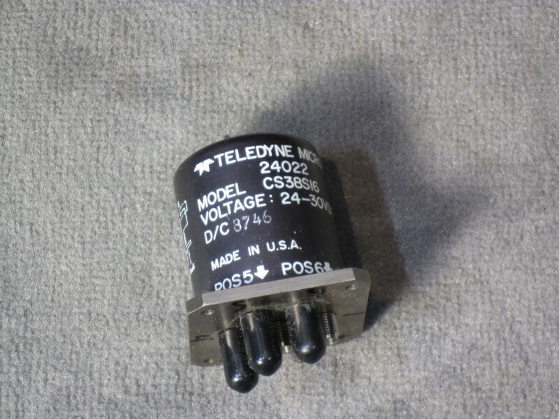 Teledyne Microwave Switch CS38S16 24-30 VDC